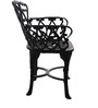 Victorian Style Antique Chair in Black Colour by Karara Mujassme