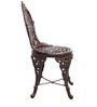 Victorian Style Antique Chair in Copper Colour by Karara Mujassme