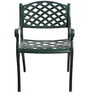 Victorian Style Antique Chair in Green Colour by Karara Mujassme