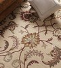 Vikram Carpets Beige Wool Antiquities Hand Tufted Carpet