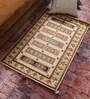 Vikram Carpets Ivory Wool Old World Hand Knotted Carpet