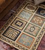 Vikram Carpets Ivory Wool Old World Hand Knotted Carpet