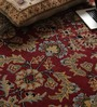 Vikram Carpets Red Wool Antiquities Hand Tufted Carpet