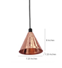 Vilaasita Brown Copper Pendant