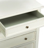 Vintage Short Dresser in White Colour by Asian Arts