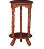 Edward End Table in Honey Oak Finish by Amberville