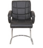 Ergonomic Chair with Fixed Base in Black Colour by KS
