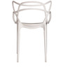 Visitor Chair in White Colour by Parin (Set of 2)