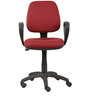 Ergonomic Chair in Maroon Colour by Parin