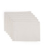 Vista Home Fashion White Cotton 20x14 INCH Placemat - Set of 3