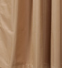 Vista Home Fashion Brown Cotton 90 x 54 Inch Solid Door Curtain