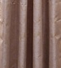 Vista Home Brown Polyester 84 x 55 Inch Door Curtain - Set of 2