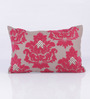 Vista Home Fashion Red Cotton 20 x 14 Inch Cushion Cover