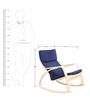 Vita Rocker Chair in Blue Colour by HomeTown