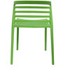 Vivo Cafeteria Chair Set of Two in Green Color By Attro