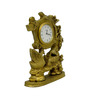 Vyom Shop Brass Duck Watch Desk Clock