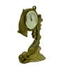 Vyom Shop Brass Fish Watch Desk Clock