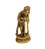 Vyom Shop Brass Lady with Two Pitchers Statue Showpiece