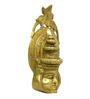 Vyom Shop Brass South Indian Dancing Face Wall Hanging