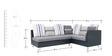 Walton RHS Five Seater Corner Sofa in Grey Colour by Furnitech
