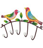 Wonderland Bird Wall Hooks with 5 Hanger