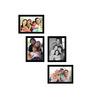 Cayenne Collage Photo Frame in Black by CasaCraft