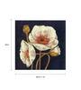 Wall Decor White Canvas 24 x 24 Inch Floral Framed Digital Art Print