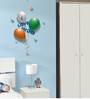 Wall Inc Patriotic Love For India Balloons Wall Decal