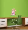 Wall Inc Pink Hip-Hop Bunny Wall Decal Room