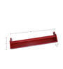 Wall-Mounted Kids Book Shelf in Red Colour by FlyFrog