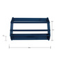 Wall-Mounted Kids Curved Book Shelf in Blue Colour by FlyFrog