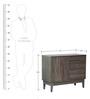 Shinjiko Storage Cabinet in Sonoma Oak Finish by Mintwud