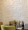 WallArt Crushed Sugarcane Fibres 20 x 20 Inch Bricks 3D Wall Panels - Set of 12