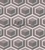 Wallskin Grey Non Woven Paper The Cubic Symmetry Wallpaper