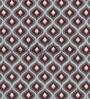 Wallskin Maroon Non Woven Paper Spiral Pattern Wallpaper