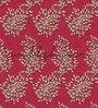 Wallskin Maroon Non Woven Paper The Dandelion Wall Wallpaper
