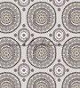 Wallskin Multicolour Non Woven Paper The Ethnic Circles Wallpaper