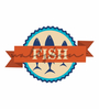 Wallskin Vinyl Come Fishing Wall Decal