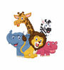 Wallskin Vinyl Friends from The Forest Wall Decal