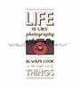Wallskin Vinyl Life Has Brighter Things Wall Decal