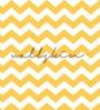 Wallskin Yellow Non Woven Paper Waves Wallpaper