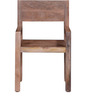Trego Arm Chair in Natural Mango Wood Finish by Woodsworth