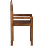 Elkhorn Solid Wood Armchair in Provincial Teak Finish by Woodsworth