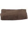 Trio Welcome Fossil Brown Cotton Bath Towel