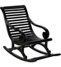Wellesley Rocking Chair in Espresso Walnut Finish by Amberville
