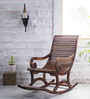 Wellesley Rocking Chair in Provincial Teak Finish by Amberville