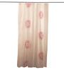 Wenko White & Pink Peva Shower Curtain