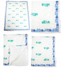 Cocobee White Homes Print Baby Quilt in White Colour