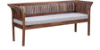 Willingdon Three Seater Sofa in Provincial Teak Finish by Amberville