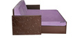 Winchester Sofa Cum Bed in Purple Colour by Auspicious Home